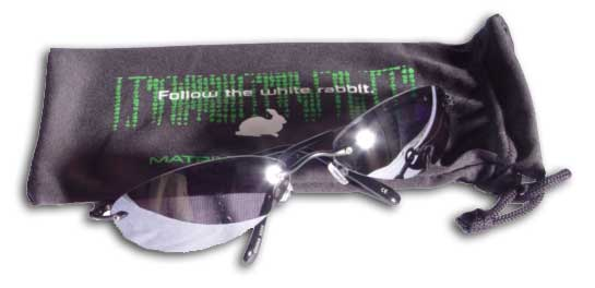 5aa42782e97 Sunglasses worn by the Twins in the Matrix Reloaded.